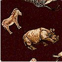 Serenghetti - Small Scale Animals on Brown