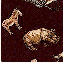 Serenghetti - Small Scale Animals on Brown