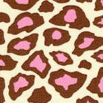 Metro Living - Leopard Skin in Pink and Brown