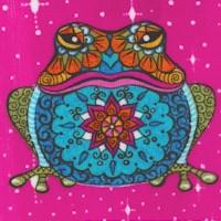 Mandala Tango - Whimsical Cheater Quilt Patchwork