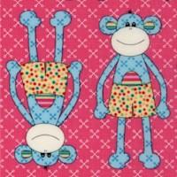 Little Menagerie - Whimsical Monkeys by Melanie Hurlston
