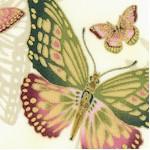 Sanctuary II - Nobu Fujiyana Gilded Butterflies