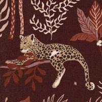 Magic of Serengeti - Leopards by Julia Dreams - Deep Plum