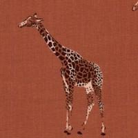 Magic of Serengeti - Giraffes by Julia Dreams - Baked Clay