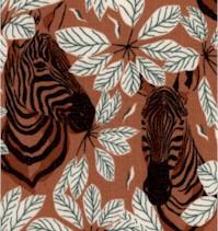 Magic of Serengeti - Happy Zebra by Julia Dreams - Amber Winds