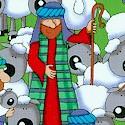 Christmas Shepherds and Sheep