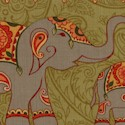 The Spice Trail - Indian Inspired Elephant Stripe #1