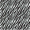 Not So Basic Black and White - Mini Zebra Stripe