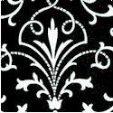 Alice - Ornate Black and White Design