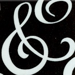 Ampersand in Black and White by Ampersand