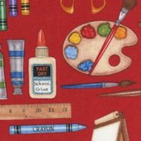 Making the Grade - Art Class Supplies by Dan Morris