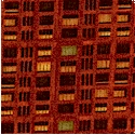 City Scapes - Saturday Evening Post - Apartment Building Plaid