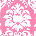 Dandy Damask in Pink and Ivory