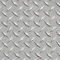 Keep On Trucking - Diamond Plate Texture in Gunmetal