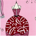 Dress Up - High Fashion Dresses and Dress Forms on Pink