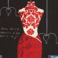 Dress Up 2 - Elegant Designer Dress Forms with Notes on Black
