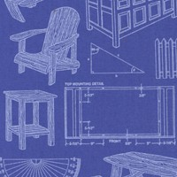 Mr. Fix-It - Carpentry Projects, Plans and Tools on Blue by Dan Morris