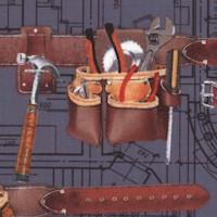 I Luv My Handyman - Tool Belts by Maria Kalinowski