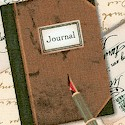 Books and Letters: Tossed Journals and Fountain Pens by Whistler Studios