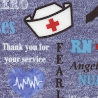 Nurse Hero on Denim