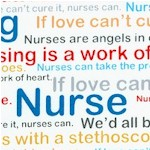Calling All Nurses - Nursing Words Collage - BACK IN STOCK!