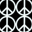 Peace - Black and White Peace Signs