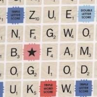 Scrabble Game Board by Hasbro
