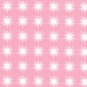 Scrappy and Happy Baby Coordinate - Petite Starbursts on Pink