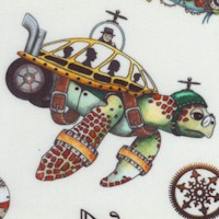 Steampunkery - Fantastic Undersea Creatures on Cream