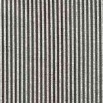 Metallic Silver and Navy Blue Thin Vertical Stripe - SALE! (ONE YARD MINIMUM