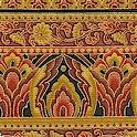 Taj Mahal - Elegant Gilded Vertical Stripe