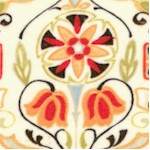 Bohemian Roosters - Decorative Tile Coordinate