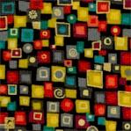 Klimt-Inspired Gilded Geometric #2