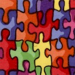 Bright Rainbow Jigsaw Puzzle - BACK IN STOCK!