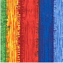 Pazzaluna - Colorful Textured-Look Rainbow Stripe by Beverly Ann Stillwell