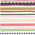 Pop 'n Cute Horizontal Stripe with Glitter