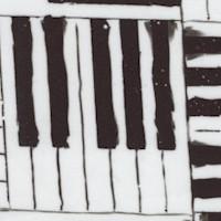 Rhythm & Hues - Piano Keys by Connie Haley (Digital)