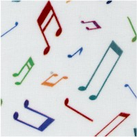 Musical Notes - Woodland Musicians by The Little Red House