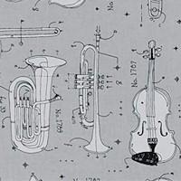 Opus - Anatomy of Instruments on Gray
