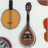 Strings! Musical Instruments on Ivory