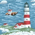 Coastal - Small Scale Lighthouses and Boats