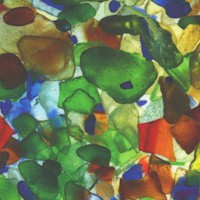 Landscapes - Mermaids Tails Seaglass (Digital)