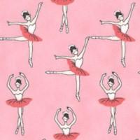 Sevenberry - Mini Ballerinas on Pink