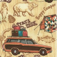 Happy Camper - Vintage Cars and Campgrounds