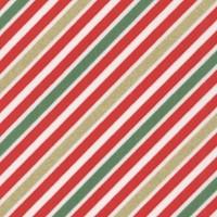 Remix Metallic - Gilded Candy Cane Stripe