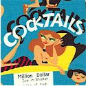 Kitschy Cocktails - Retro Recipes on Blue
