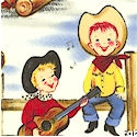 Lil Cowpokes - Retro Cowboy and Cowgirl Kids