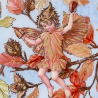 Petite Autumn Fairies by Cicely Mary Barker