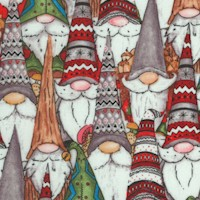 Gnoming Through the Snow - Packed Holiday Gnomes