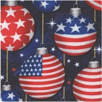 Christmas USA - Festive Ornaments by Whistler Studios